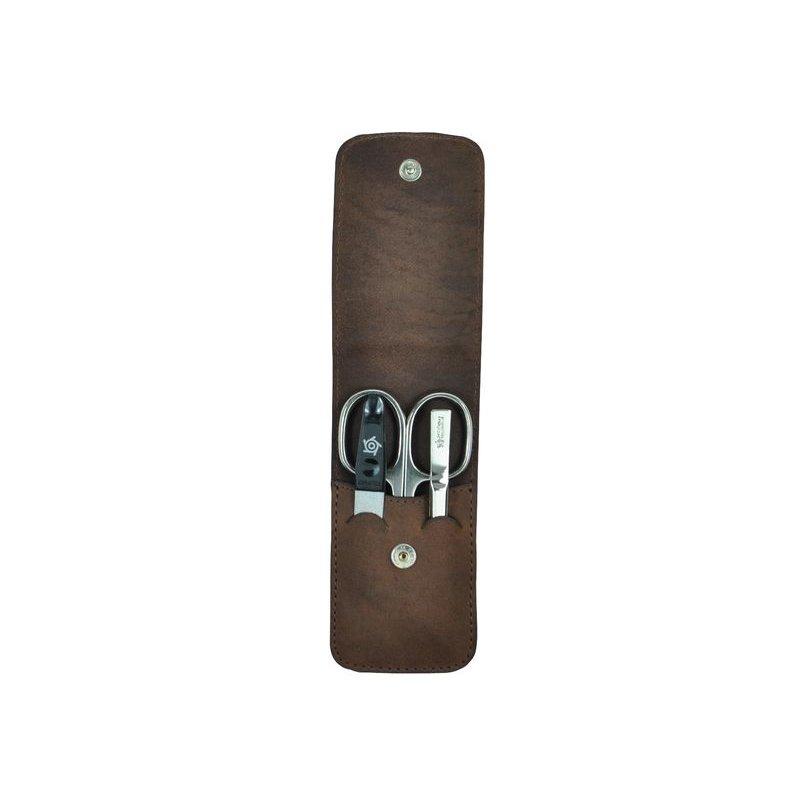 pfeilring taschenetui nappaleder gr n trendy 2 tlg glasfei. Black Bedroom Furniture Sets. Home Design Ideas