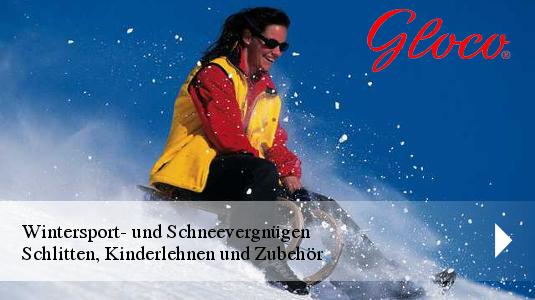 Gloco Schlitten Schneevergnügen
